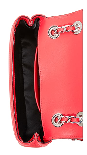 Moschino Moschino License Plate Shoulder Bag