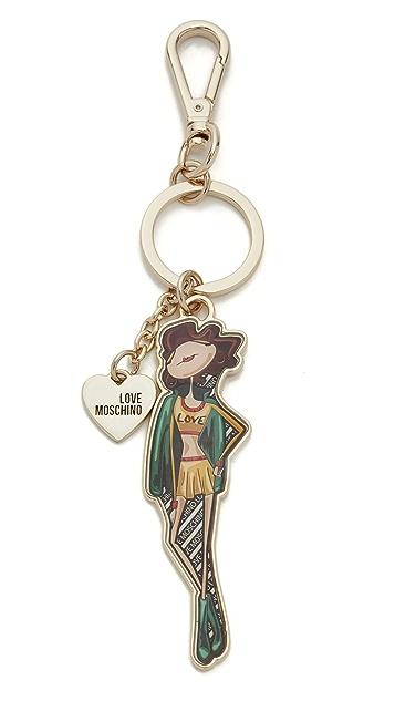 Moschino Love Moschino Keychain