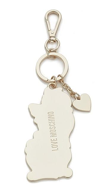 Moschino Брелок для ключей Love Moschino