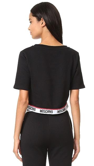 Moschino Short Sleeve Sweatshirt