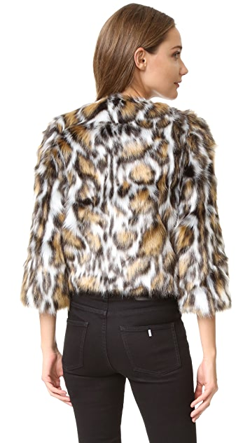 Moschino Faux Fur Jacket