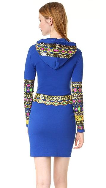Moschino Hooded Dress