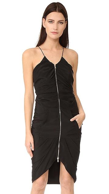 Moschino Zipper Down Dress