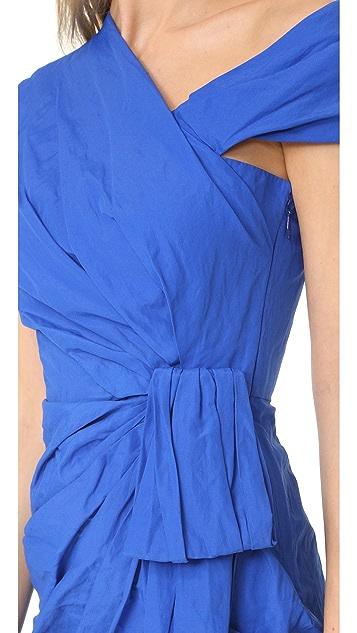 Moschino One Shoulder Dress