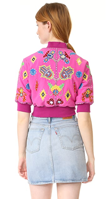 Moschino Cropped Jacket