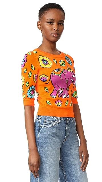Moschino Short Sleeve Sweater