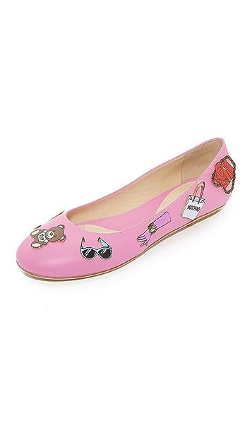 Moschino Ballerina Flats