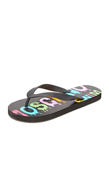 Moschino Moschino Flip Flops