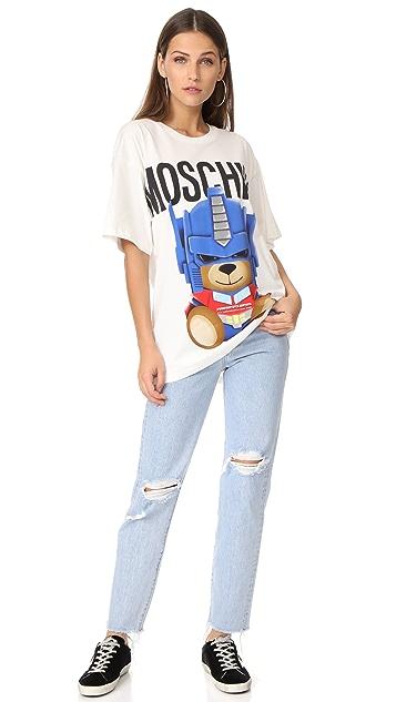 Moschino Transformers Bear T-Shirt