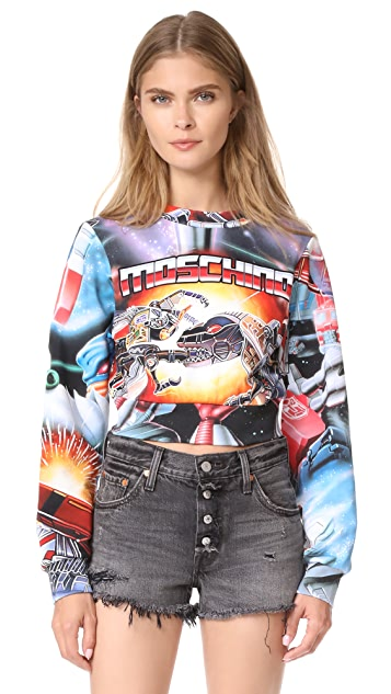 Moschino Transformers Sweatshirt