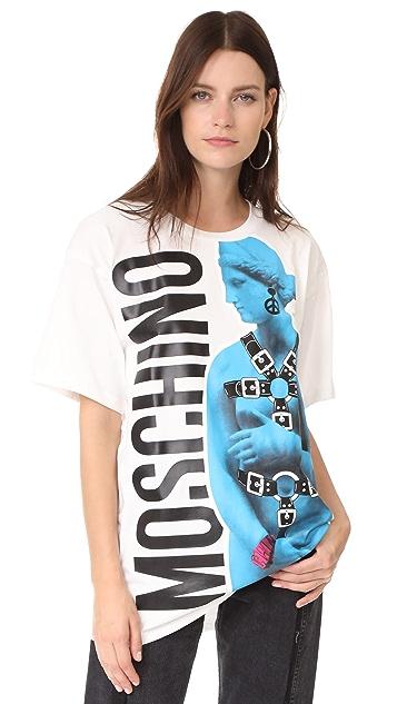 Moschino Statue T-Shirt