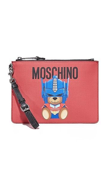 Moschino Wristlet