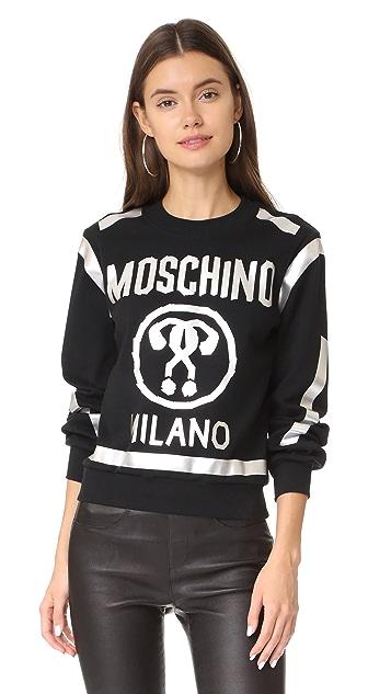 Moschino Logo Pullover