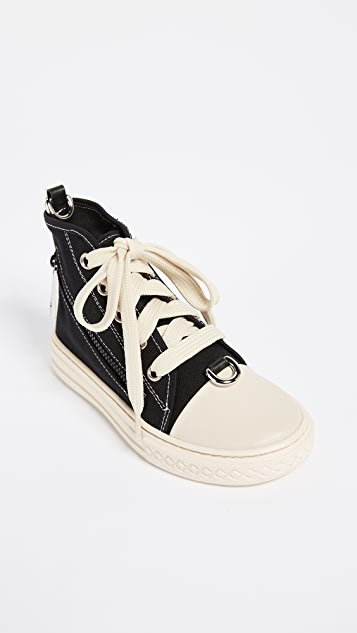 Moschino Shoulder Sneaker Bag