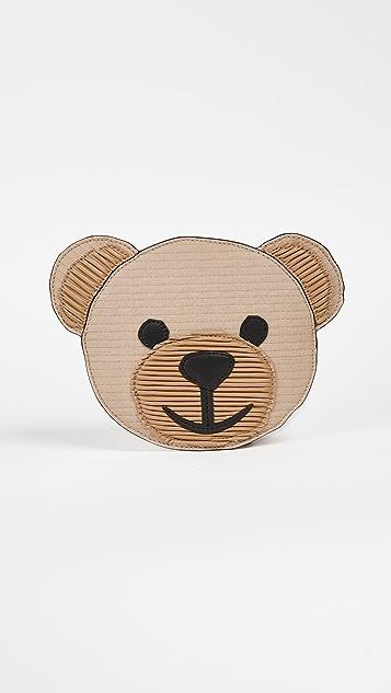 Moschino Bear Clutch