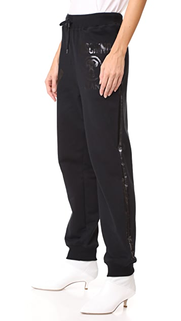 Moschino Drawstring Sweatpants