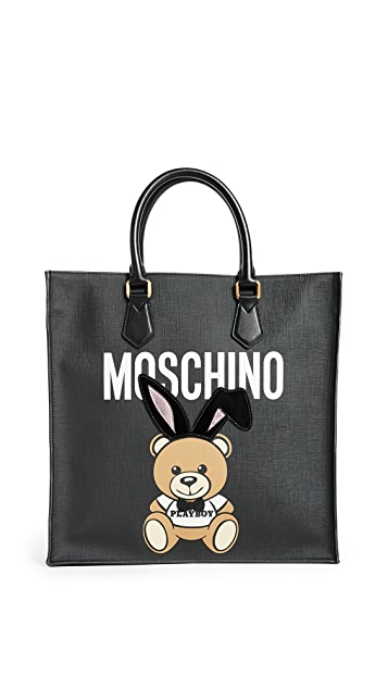 Moschino Bear with Bunny Ears Tote