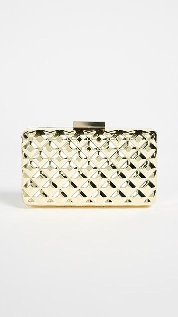 Moschino Love Moschino Metallic Cross Body Bag - Gold