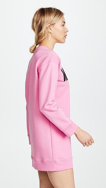 Moschino Logo Tee Dress
