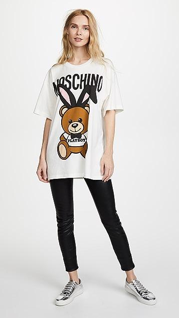 Moschino Playboy Bear Tee