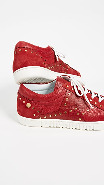 Moschino Studded Sneakers
