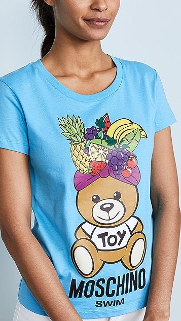 Moschino Fruit Bear Graphic Tee