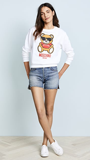 Moschino Bear Graphic Sweater