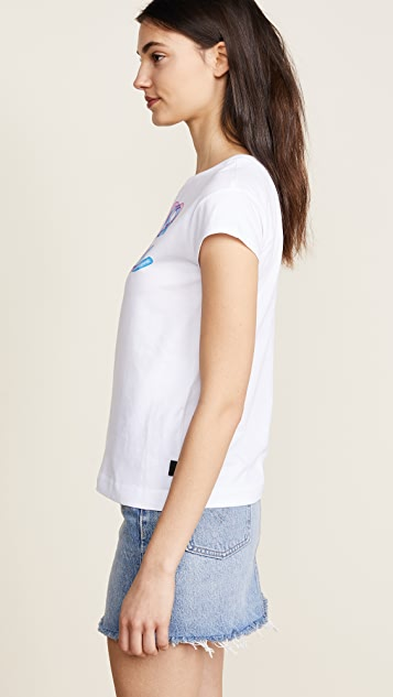 Moschino Love Moschino Peace Love Tee
