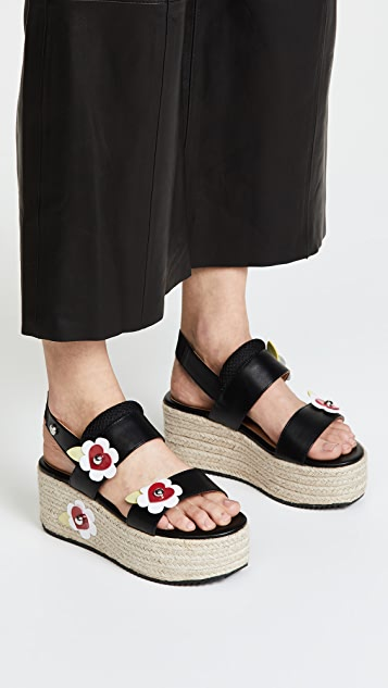 Love Platform Flower Moschino Sandals SHOPBOP Moschino RgqRnd