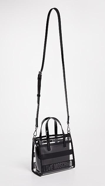 Moschino Love Moschino Cross Body Patent Bag