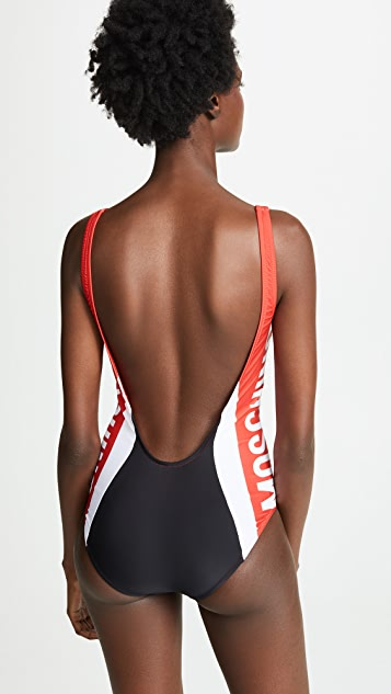 Moschino Motocross One Piece