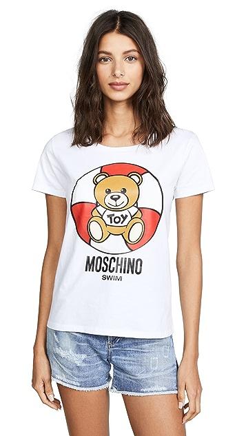Moschino Life Vest Teddy Tee