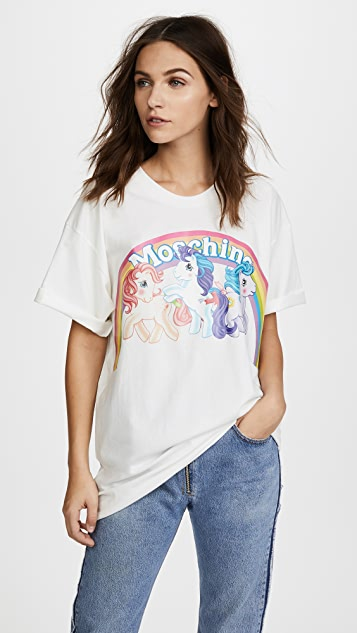 Moschino My Little Pony Rainbow Tee