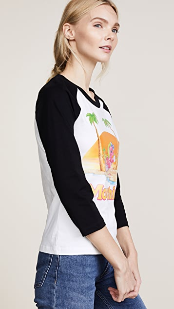 Moschino My Little Pony Beach Baseball Tee