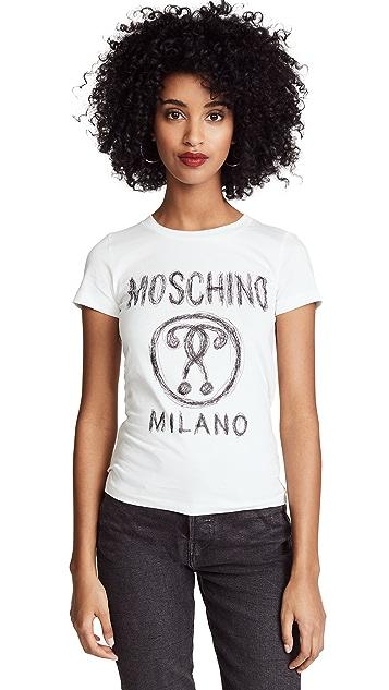 Moschino Moschino Logo Tee