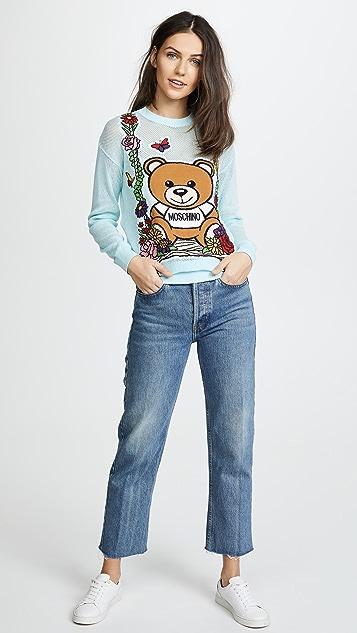 Moschino Moschino Bear Swing Sweater