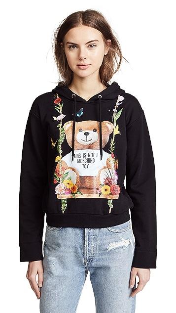 Moschino Bear Swing Hoodie