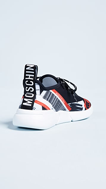 Moschino Multicolored Sneakers