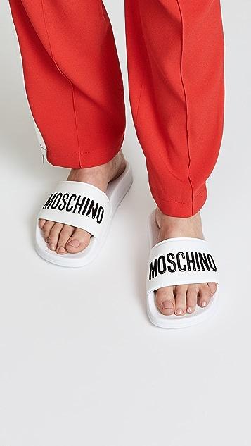 Moschino Moschino Logo Sandals