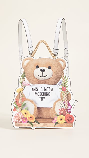 Moschino Moschino Bear Mini Backpack