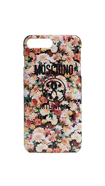 Moschino Floral iPhone 7 Plus / 8 Plus Case