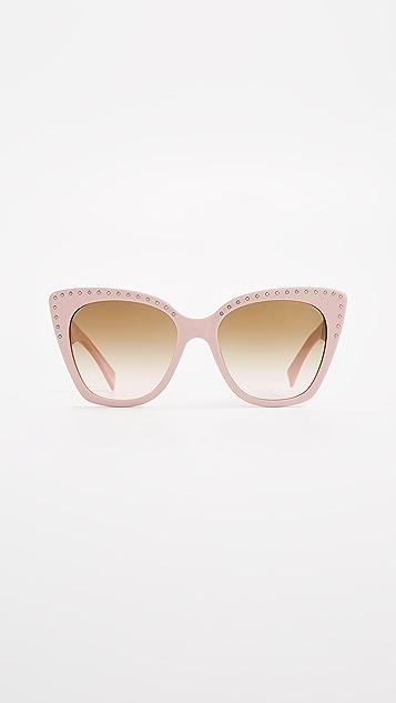 Moschino Slight Cat Eye Sunglasses