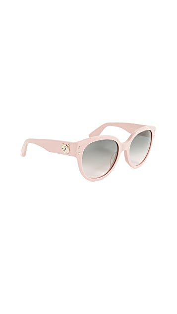 Moschino Bear Logo Sunglasses