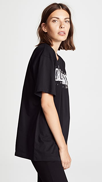 Moschino Safety Pin Logo Tee