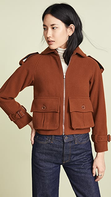 Moschino Jacket with Front Pockets