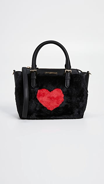 d0151f76bc1 Moschino Love Moschino Top Handle Tote | SHOPBOP