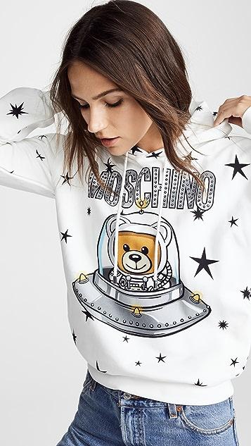 Moschino Spaceship Bear Sweatshirt