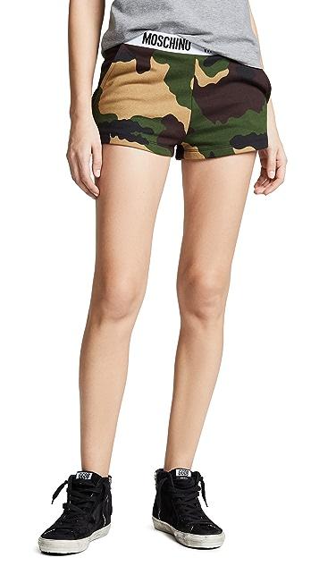 Moschino Camo Shorts