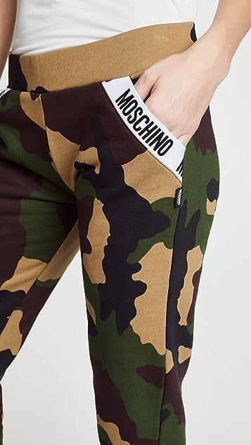 Moschino Camo Sweatpants