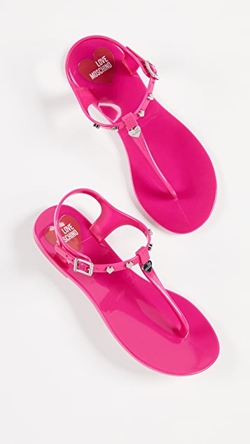 Moschino Love Moschino Thong Sandals